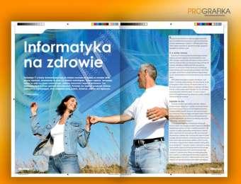 Projektowanie broszur i katalogów